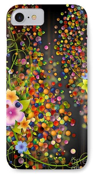 Floating Fragrances - Black Version Phone Case by Bedros Awak