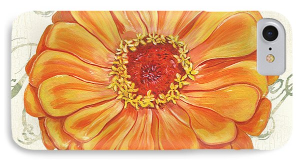 Floral Inspiration 2 IPhone Case by Debbie DeWitt