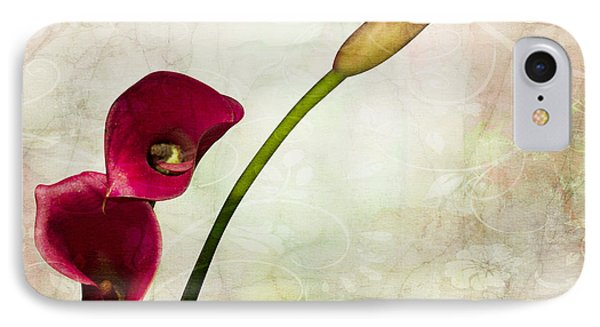 Floral  IPhone Case by Mark Ashkenazi