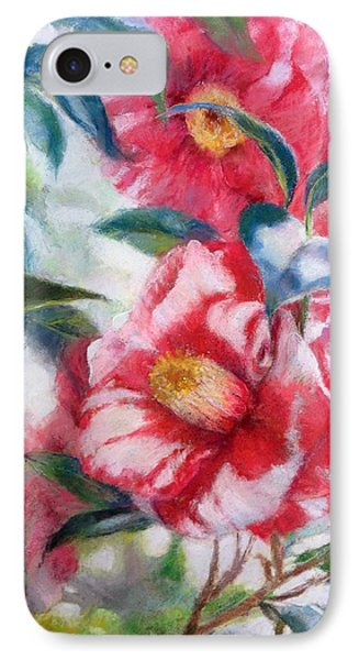 Floral Print Phone Case by Nancy Stutes