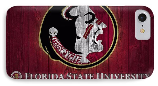 Florida State University Barn Door IPhone Case by Dan Sproul