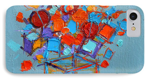 Flower Cube IPhone Case by Mona Edulesco