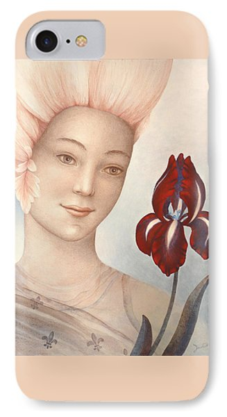 Flower Fairy Phone Case by Judith Grzimek