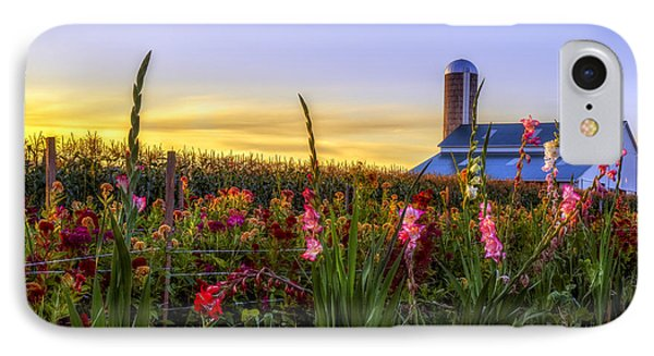 Flower Farm Phone Case by Mark Papke