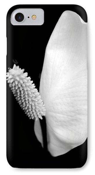 Flower Power Peace Lily IPhone Case by Tom Mc Nemar