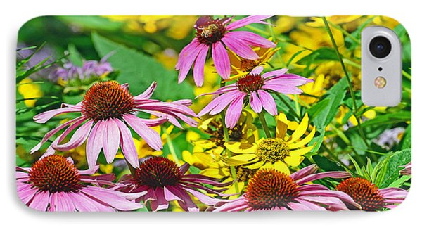 IPhone Case featuring the photograph Flowering Meadow by Rodney Campbell