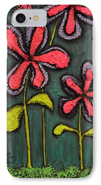 Flowers For Sydney Phone Case by Shawn Marlow