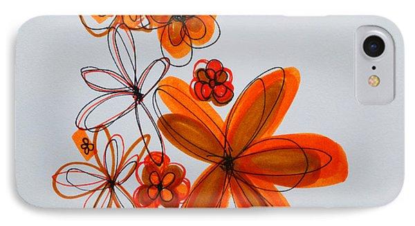 Flowers IIII Phone Case by Patricia Awapara