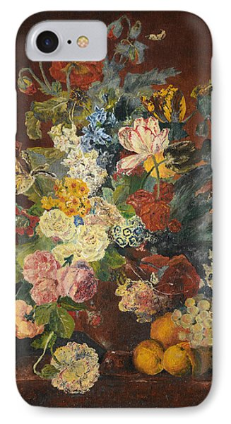 Flowers Of Light Phone Case by Mary Ellen Anderson