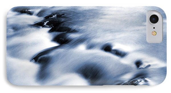 Flowing Stream Phone Case by Les Cunliffe