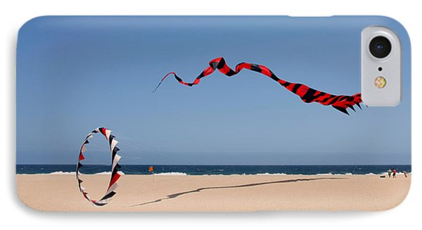 Fly A Kite - Old Hobby Reborn IPhone Case by Christine Till