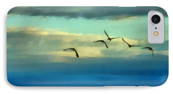 Fly Away IPhone 7 Case by Ernie Echols
