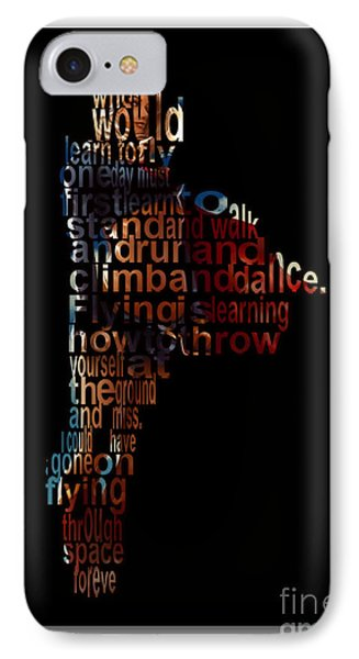 Fly High Supergirl IPhone Case by Marvin Blaine