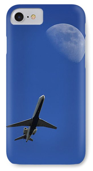 Fly Me To The Moon IPhone Case by Mike McGlothlen
