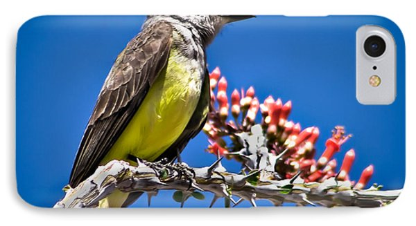 Flycatcher Phone Case by Robert Bales