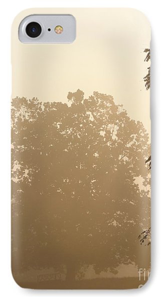 Fog Over Countryside Phone Case by Olivier Le Queinec