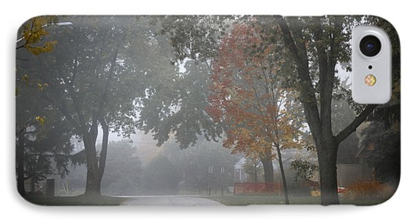 Foggy Street IPhone Case by Elena Elisseeva
