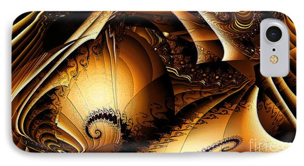 Folds In Time IPhone Case by Peter R Nicholls