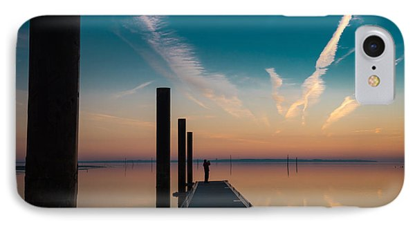 IPhone Case featuring the photograph Follow Me by Thierry Bouriat