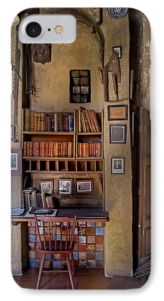 Fonthill Castle Study IPhone Case by Susan Candelario