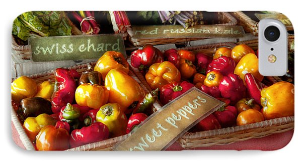 Food - Vegetables - Sweet Peppers For Sale Phone Case by Mike Savad