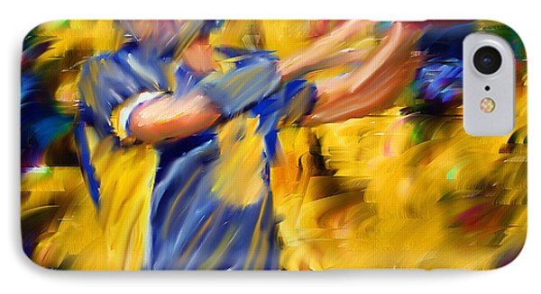 Football I IPhone Case by Lourry Legarde
