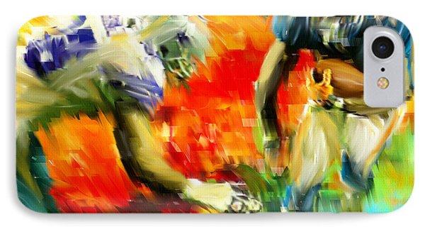 Football IIi IPhone Case by Lourry Legarde
