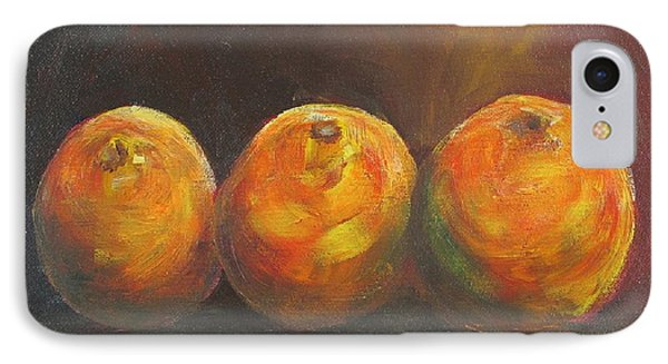 For The Love Of Three Oranges Phone Case by Susan Richardson