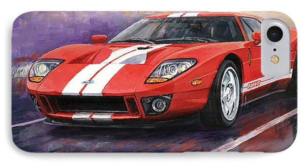 Ford Gt 2005 IPhone 7 Case by Yuriy  Shevchuk
