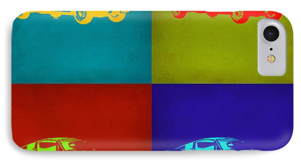 Ford Mustang Pop Art 1 IPhone Case by Naxart Studio