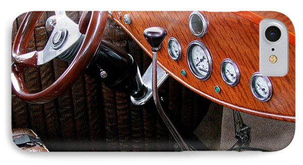 Ford V8 Dashboard Phone Case by Mary Deal