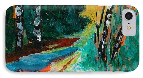 Forest Path Miniature Phone Case by Lidija Ivanek - SiLa