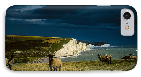 Four Sheep And Seven Sisters IPhone Case by Chris Lord
