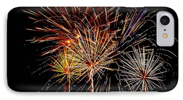 Fourth Of July Fireworks  Phone Case by Saija  Lehtonen