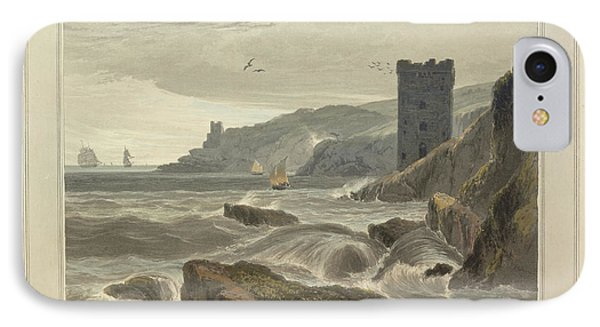 Fowey Castle IPhone Case by British Library