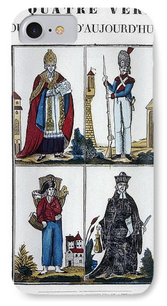 France Four Truths, C1825 IPhone Case by Granger