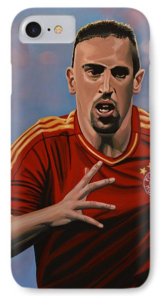 Franck Ribery Phone Case by Paul Meijering