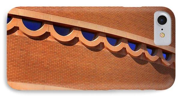 Frank Lloyd Wright Designed Auditorium Window Detail Phone Case by Karyn Robinson