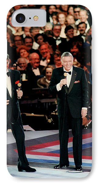 Frank Sinatra And Dean Martin IPhone Case by Mountain Dreams