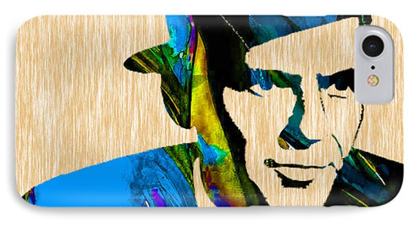 Frank Sinatra Art IPhone Case by Marvin Blaine
