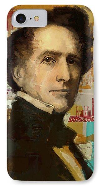 Franklin Pierce Phone Case by Corporate Art Task Force