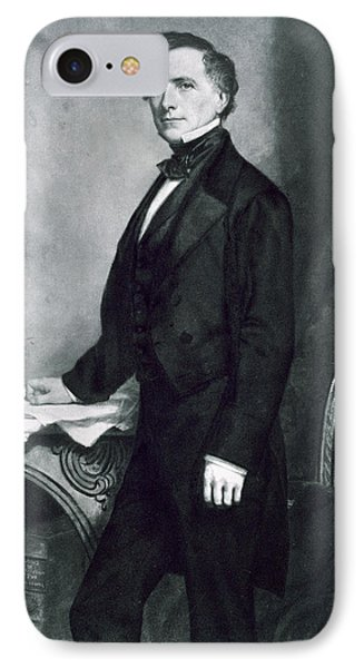Franklin Pierce IPhone Case by George Healy