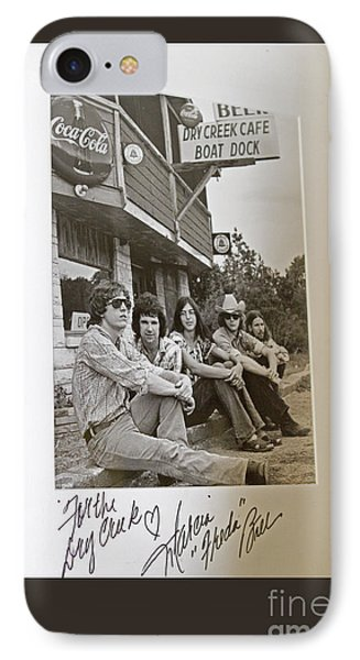 Freda And The Firedogs - Autographed Vintage Photo IPhone Case by John Stephens