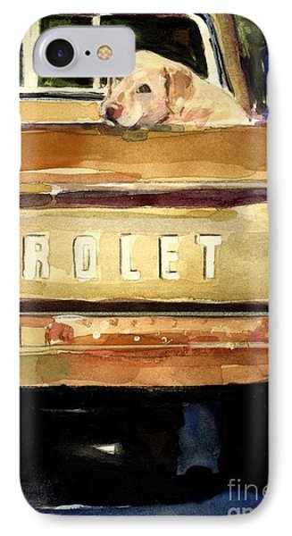 Free Ride IPhone 7 Case by Molly Poole
