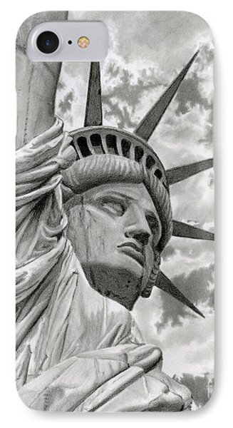 Freedom IPhone Case by Sarah Batalka