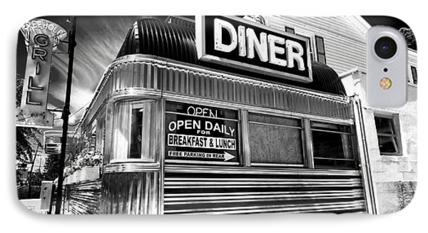 Freehold Diner IPhone Case by John Rizzuto