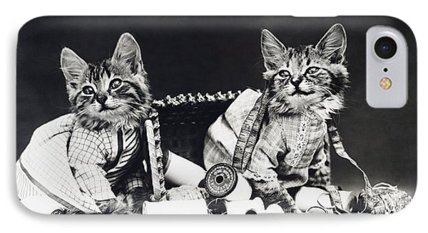 Frees Kittens, C1915 IPhone 7 Case by Granger