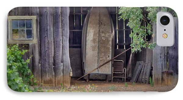 Countryside Barn IPhone Case by Joan Carroll