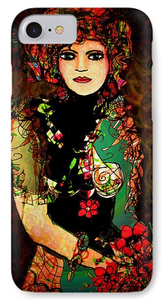 French Girl Phone Case by Natalie Holland