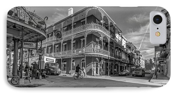 French Quarter Afternoon Bw Phone Case by Steve Harrington
